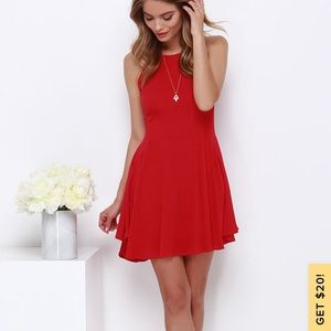 Lulus Little Red Dress